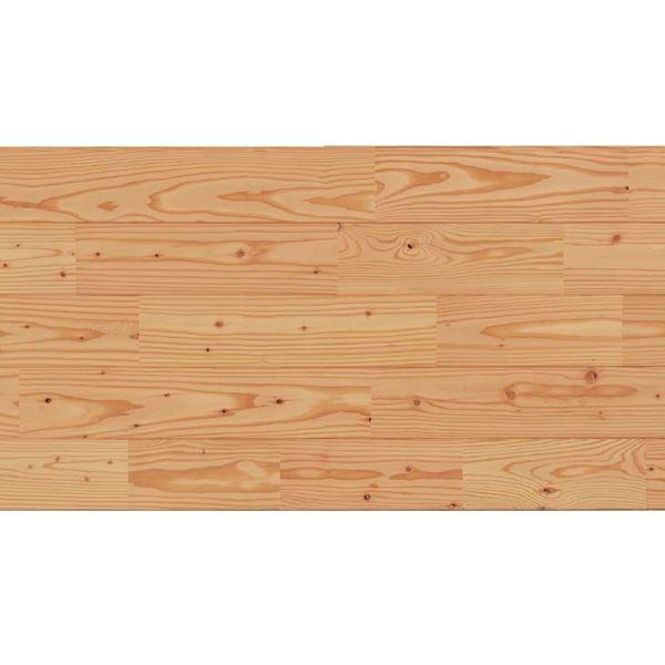天然木部材 あづみのカラ松 節有グレード UVナチュラルコート塗装 幅114mm 8枚入り 受注生産 (クリア) #WPFL0180