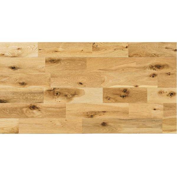 天然木部材 ナラ ラスティックグレード OSMOオイル塗装 幅120mm 7枚入り (クリア) #PHFL0502