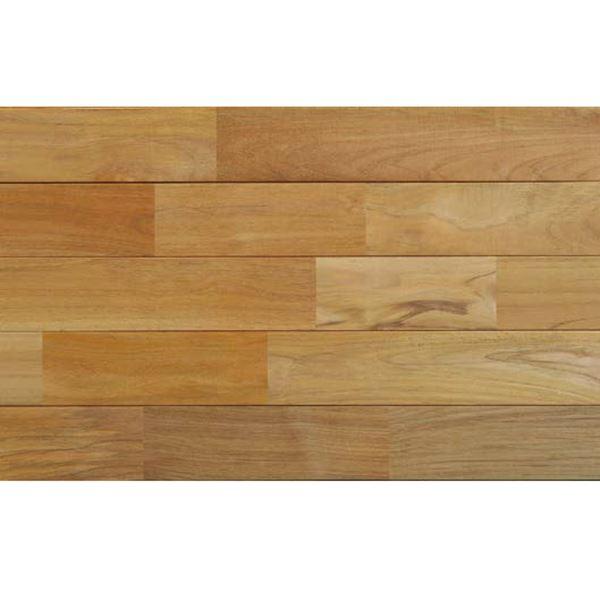 天然木部材 木床(直貼り特殊防音材付き) チーク 無塗装 幅90mm 20枚入り  #PHFL0352