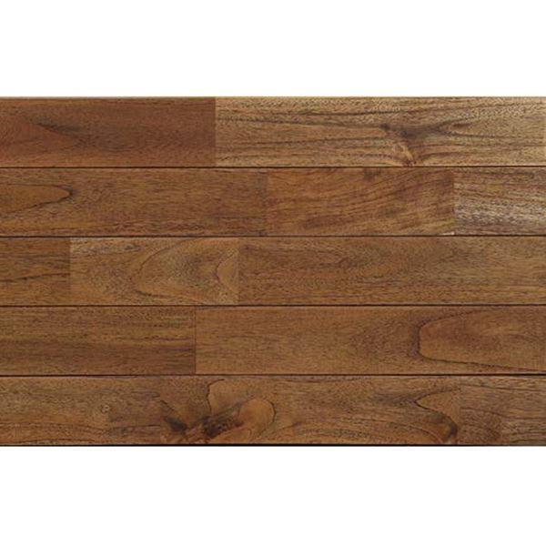 プレイリーホームズ 木床(直貼り特殊防音材付き) チーク ウレタン塗装 幅90mm 20枚入り (アンティーク) #PHFL0351