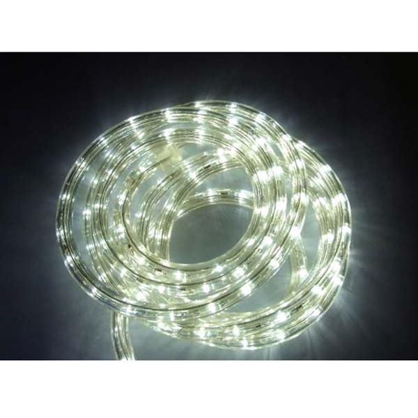 コロナ産業 LEDチューブライト 50mロール 直径10mm 常点灯仕様 白 #2WL50W 『イルミネーションライト』 白