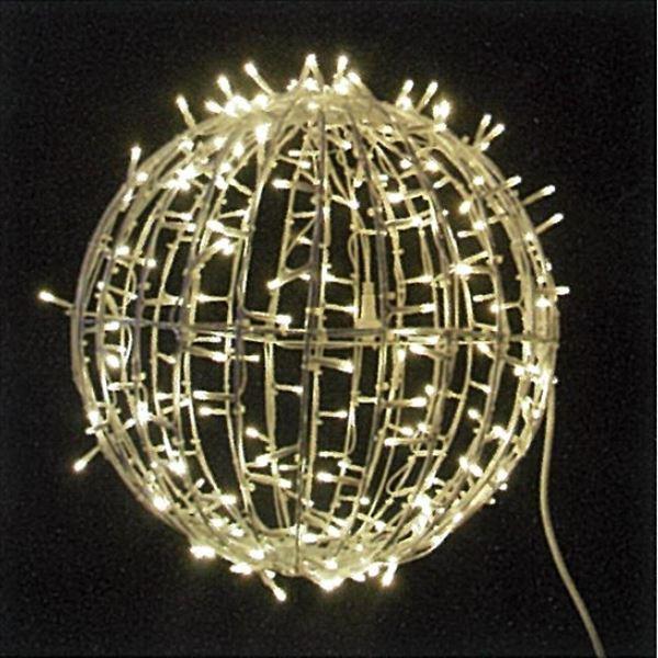 コロナ産業 3Dモチーフ ワイヤーボール 直径40cm #L3D903 『イルミネーションライト』