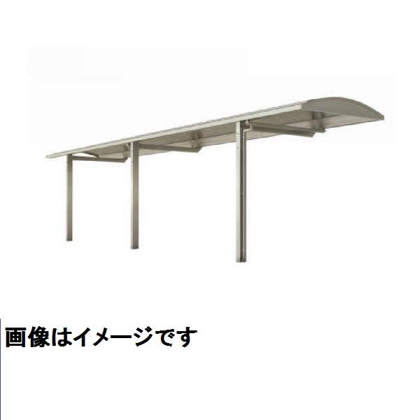四国化成 サイクルポート SAL 積雪20cm 連棟用基本セット(2連棟用セット) 屋根材:アルミ押出形材 SAL-20114SC ステンカラー ステンカラー