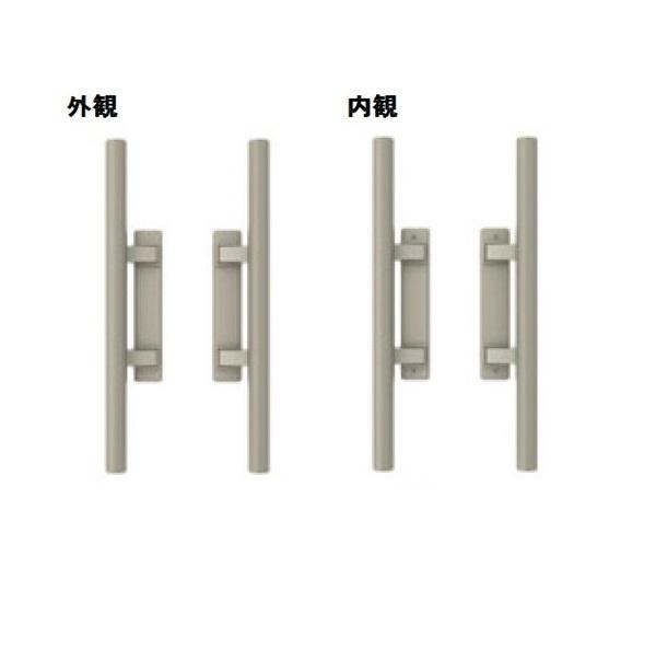 三協アルミ 形材門扉用 錠前 タッチ錠 内開き・両開き用 BH-01 『単品購入価格』