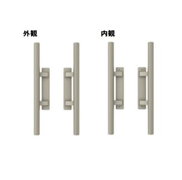 三協アルミ 形材門扉用 錠前 タッチ錠 内開き・両開き用 BH-02 『単品購入価格』
