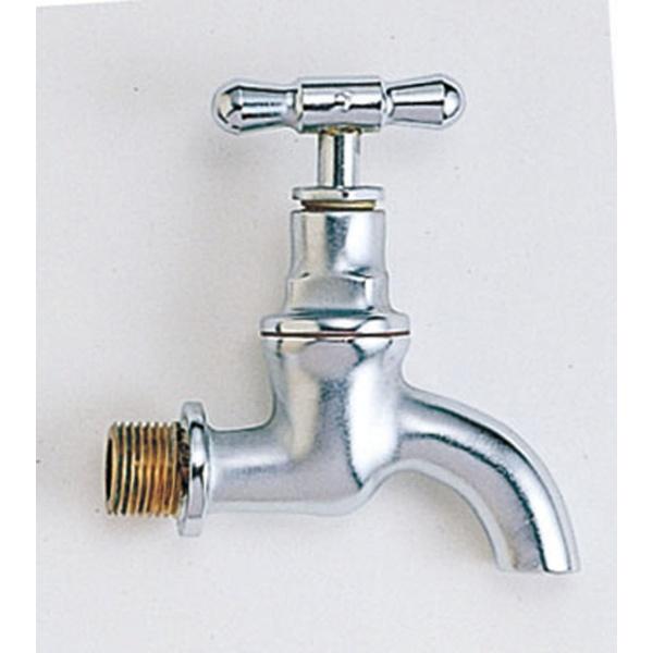 オンリーワン エッセンスガーデン クラシック水栓  IB3-GE327030 『水栓柱・立水栓 蛇口』 クロームサテン