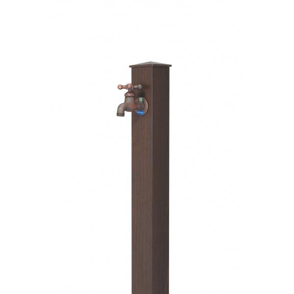 オンリーワン 木目アルミ立水栓  GM3-AL-100TM *蛇口は別売りです タモ