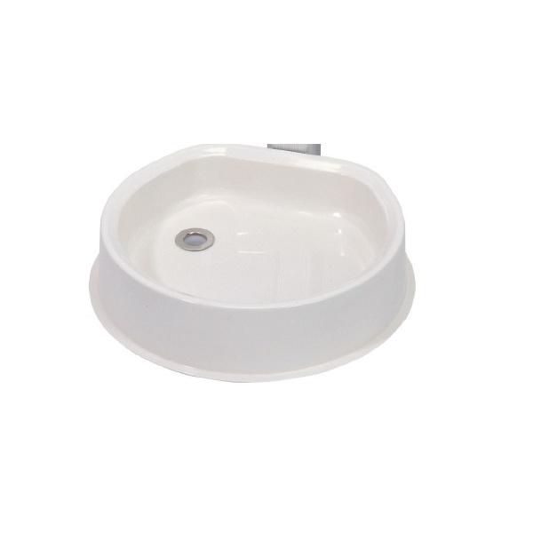 オンリーワン ガーデンパン  HV3-G208GP 『水栓柱・立水栓 水受け(パン)』 ホワイト