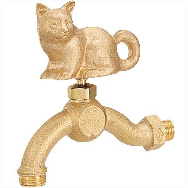 ユニソン センスイフォーセット ねこ 『水栓柱・立水栓 蛇口』