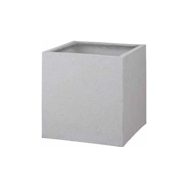 タカショー キューブポット カント(640) PIA-C01LW #36813600 ホワイト