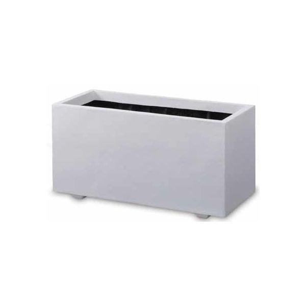 タカショー ホワイトプランター プレイン FIP-28 #41756800 ホワイト プレイン