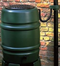 〔欠品中〕ハーコスター 雨水タンク ウォーターバット 168L HS168WB レイントラップ(集水器)・スタンドは別売 『英国製』