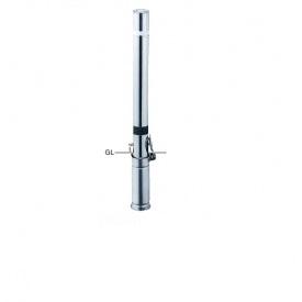 サンポール リフター ステンレス製 差込式カギ付 スプリング付き 径76.3 LA-8SKS