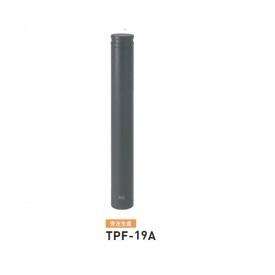 帝金 TPF-19A バリカーピラー型 ボラード アルミキャスト+スチールタイプ 直径101.6mm 固定式 ダークグレー
