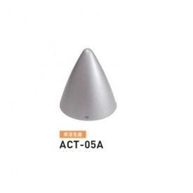 帝金 ACT-05A バリカーピラー型 ローボラード アルミキャスト 固定式 メタリックチタン