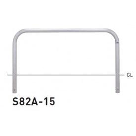 帝金 S82A-15 バリカー横型 スタンダード ステンレスタイプ W1500×H650 直径60.5mm 固定式