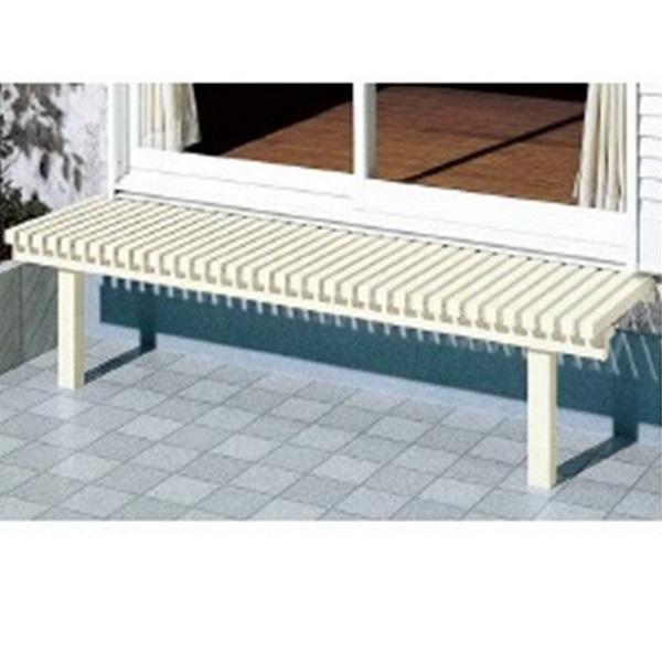 リクシル 新日軽 受注生産品 壁付けタイプ ぬれ縁3型 1.5間×600  『濡れ縁』 ホワイト(アイボリー)