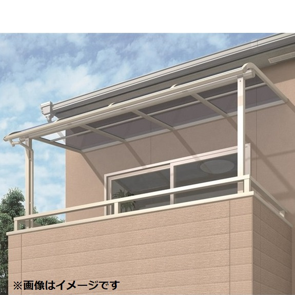キロスタイルテラス R型屋根 2階用 2間×5尺ロング柱 熱線遮断ポリカ *2階取付金具は別売 積雪20cm対応 #2019年の新仕様