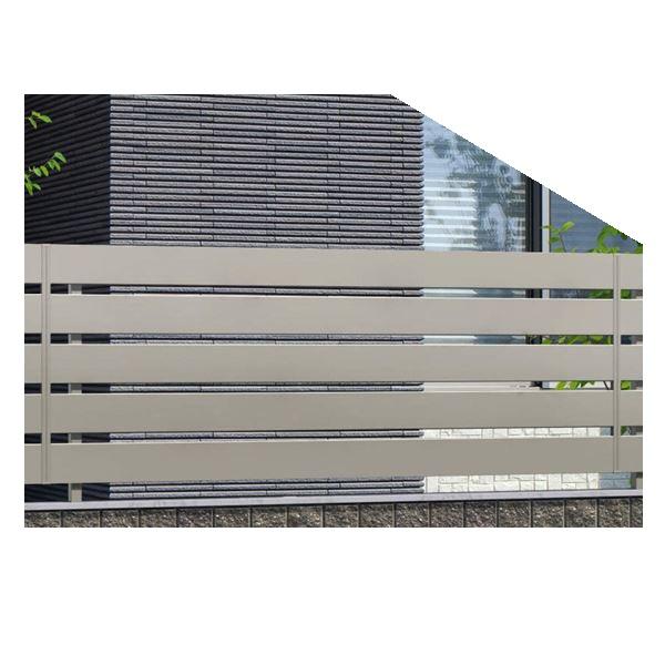 錆びにくいアルミフェンス 三協アルミ フレイナ Y1型 本体 フリー支柱タイプ 2008 『柵 高さ H800mm用』 形材色
