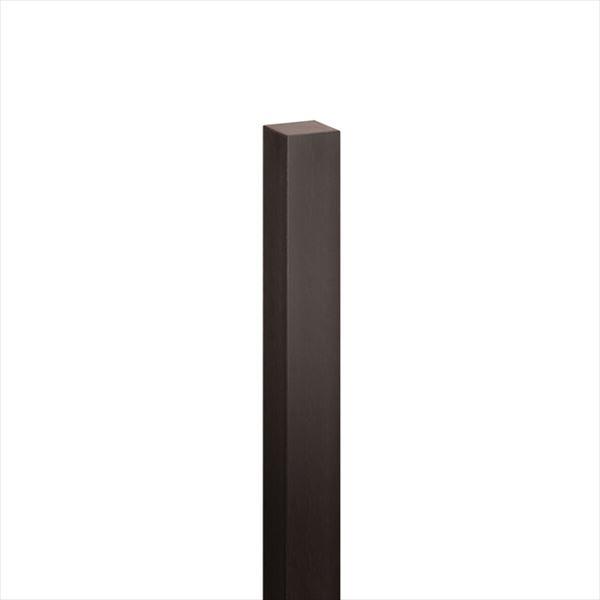 オンリーワン ハーモニーピラー(標準色) 75角×H1200 1本入り こげ茶色 KX2-K75-1202