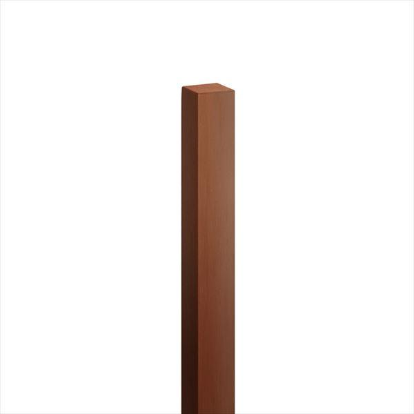 オンリーワン ハーモニーピラー(標準色) 75角×H1200 1本入り 茶色 KX2-K75-1203