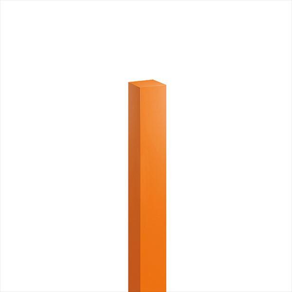 オンリーワン ハーモニーピラー(特注色) 75角×H1200 1本入り オレンジ色 KX2-T75-1212
