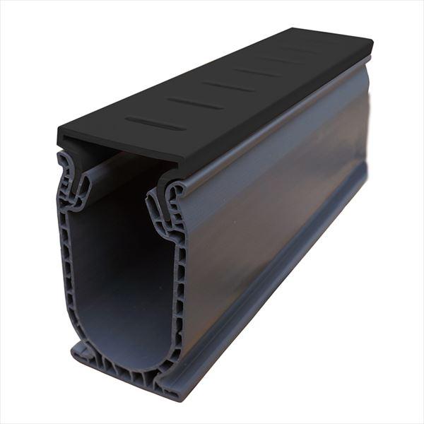 オンリーワン 排水溝 コンパクトドレイン 標準セット(長さ24m分) ブラック MT2-DSTBK ※個人配送不可