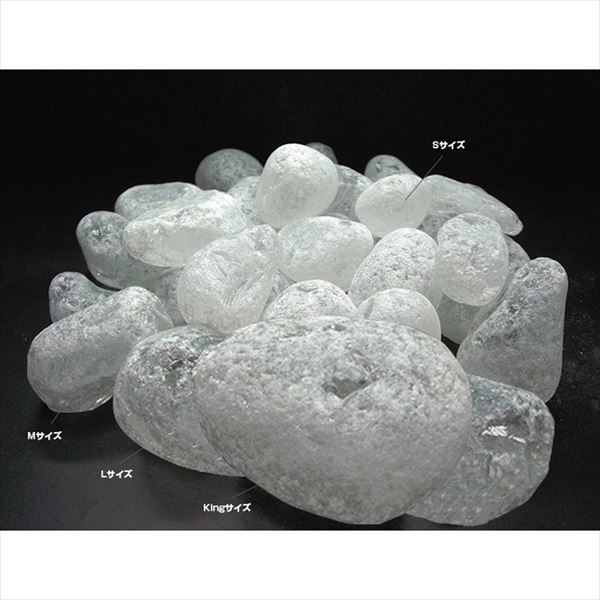 オンリーワン ガラスゴロタeco クリア L 1袋(5kg) AD2-GGL-5C