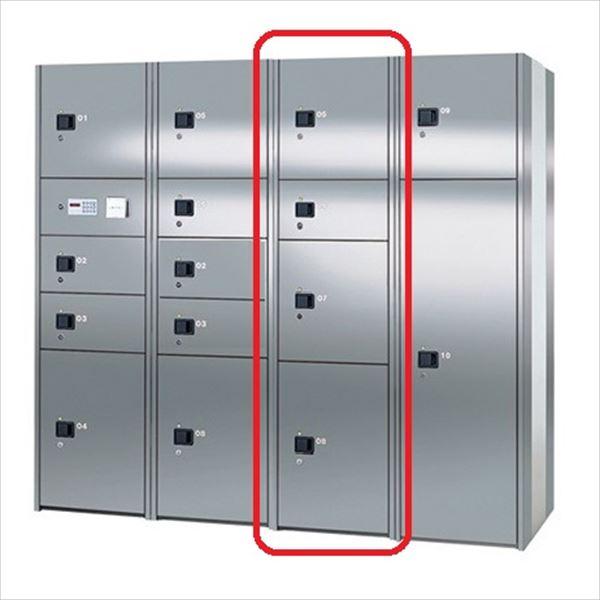 ナスタ 宅配ボックス 屋内用 コンピューター式 Cユニット ステンレス扉 前入れ後出し KS-TLH18-SC ※こちらのユニットだけの設置は出来ません。『マンション用』