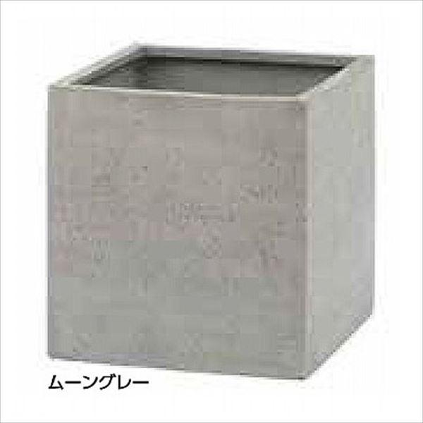 タカショー キューブポット カント(450) PIA-C01SSMR #36875400 ムーングレー