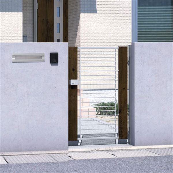 三協アルミ 門扉 マイリッシュ M2型 片開きセット 門柱タイプ(クローザ仕様) 0810
