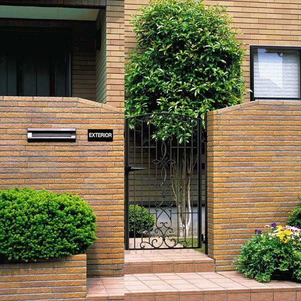 三協アルミ 門扉 キャスリート 5型 片開きセット 門柱タイプ 0710