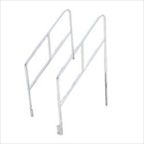 パックス工業 折りたたみ式アルミ製やぐらステージ オプション 階段用手すり