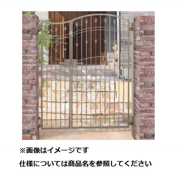 四国化成 ブルーム門扉 M7型 柱仕様 片開きセット 0814 ステンカラー