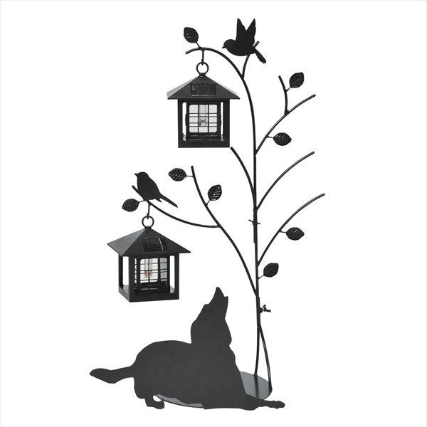 セトクラフト シルエットソーラー 屋外 おしゃれ Tree&Dog 2灯 SI-1955-1300