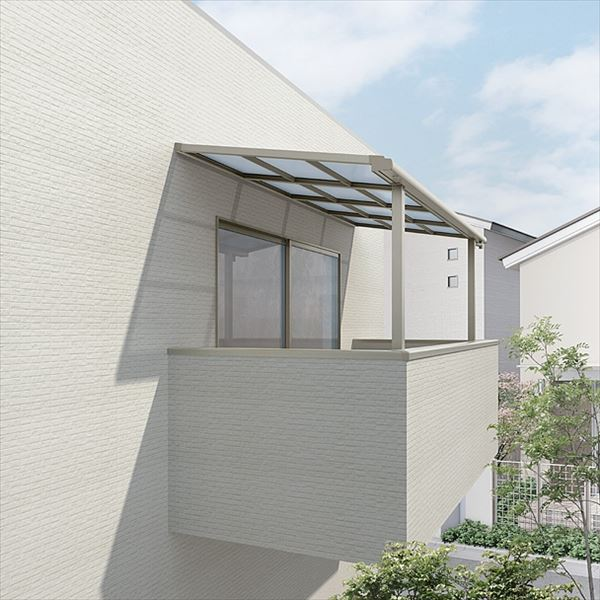 リクシル  スピーネ ロング柱 2.0間×5尺 造り付け屋根タイプ 20cm(600タイプ)/関東間/F型/標準仕様 熱線吸収ポリカーボネート(クリアマットS)