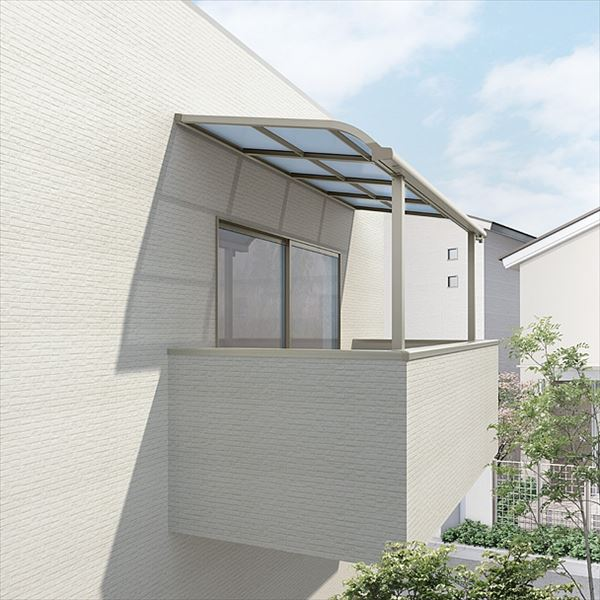 リクシル スピーネ  20cm(600タイプ)/関東間/R型/自在桁仕様 造り付け屋根タイプ 1.0間×5尺 熱線吸収ポリカーボネート(クリアマットS)