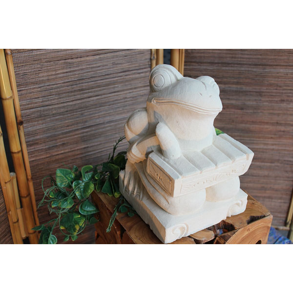 SIP バリ島 石像 カエル音楽隊 KAERUM-03