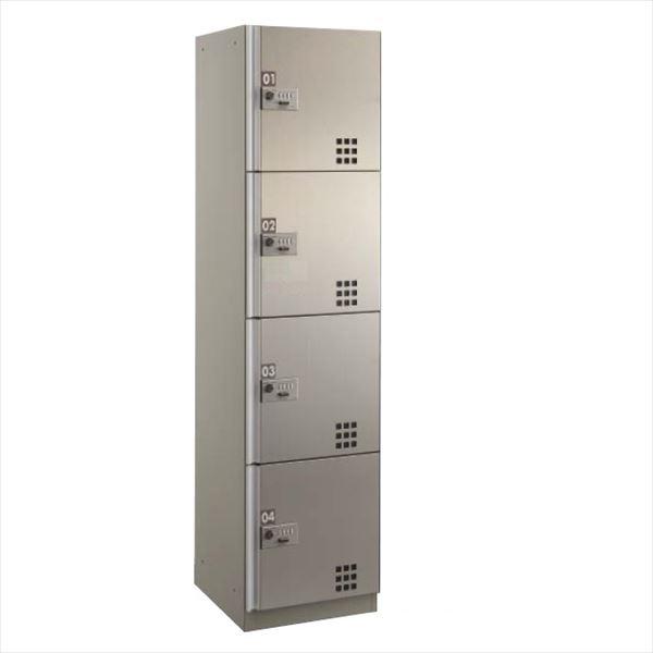 ダイケン 宅配ボックス ダイヤル錠タイプ TBX-D4型 Sユニット (前入前出し、ステンレス扉) TBX-D4S 『マンション用』