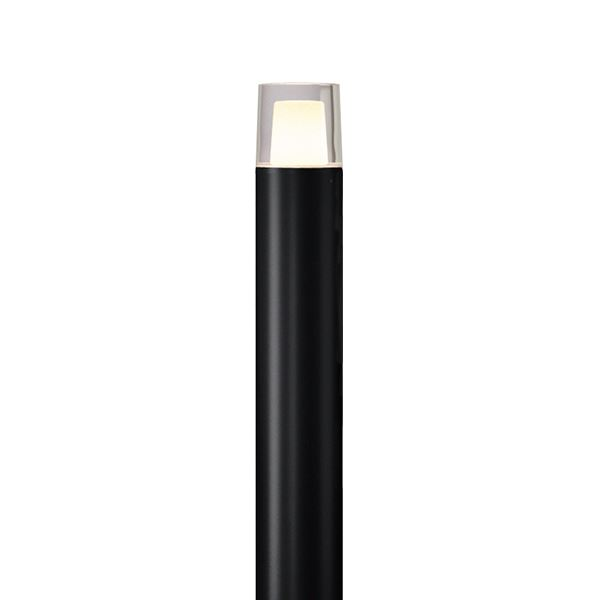 タカショー ポールライト(ローボルト) エクスレッズポールライト 1型(LED色:電球色) #73409200 HBC-D37K ブラック
