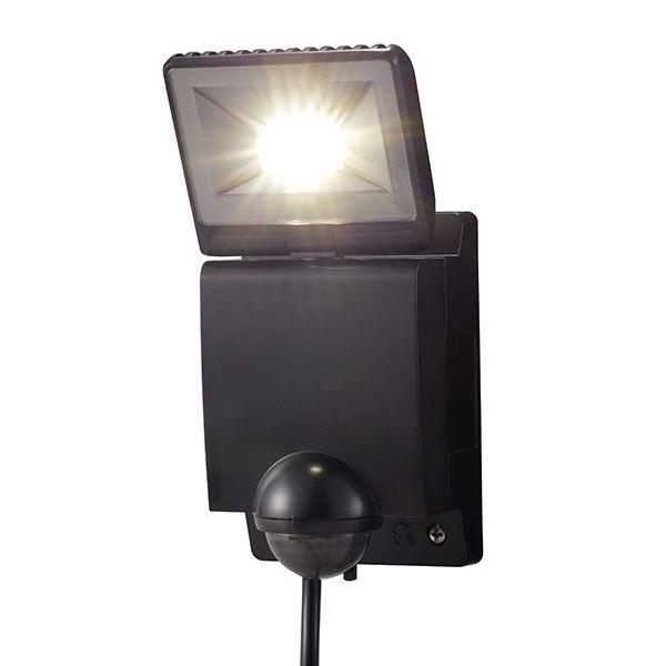 タカショー セキュリティライト(100V) LEDセンサライト 1型 #61911500 HIA-W01K ブラック