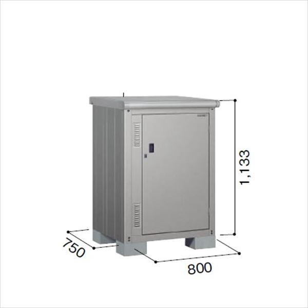 ヨドコウ ESE/エスモ ESE-0807Y SS 小型物置  『追加金額で工事も可能』 『屋外用収納庫 DIY向け ESD-0807Yのモデルチェンジ』 スノーシルバー