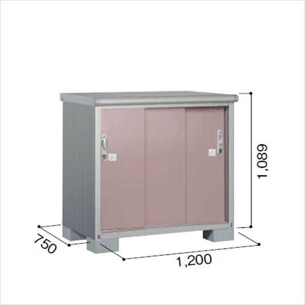 ヨドコウ ESE/エスモ ESE-1207Y MR 小型物置  『追加金額で工事も可能』 『屋外用収納庫 DIY向け ESD-1207Yのモデルチェンジ』 メタリックローズ