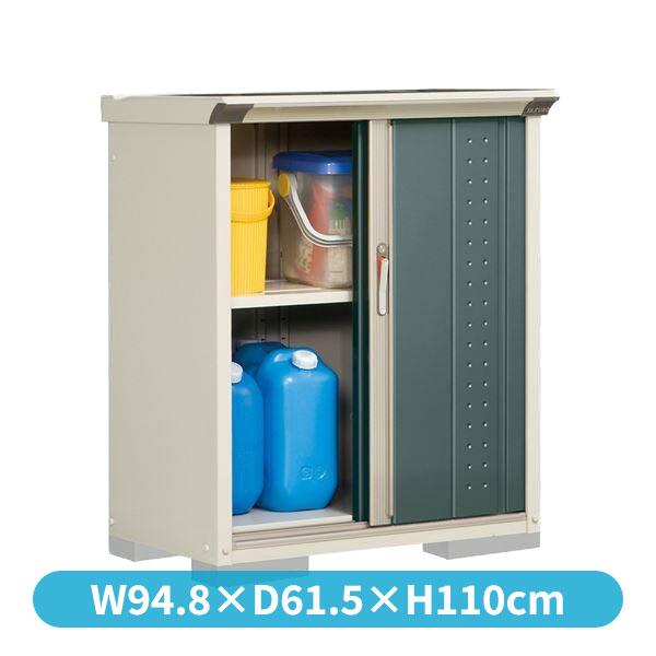 タクボ物置 GP/グランプレステージ ジャンプ GP-95DT たて置きタイプ(ネット棚)  『追加金額で工事も可能』 『屋外用 小型物置 DIY向け 収納庫』