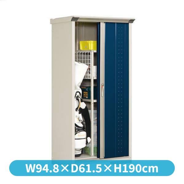 タクボ物置 GP/グランプレステージ ジャンプ GP-95AT たて置きタイプ(ネット棚)  『追加金額で工事も可能』 『屋外用 小型物置 DIY向け 収納庫』