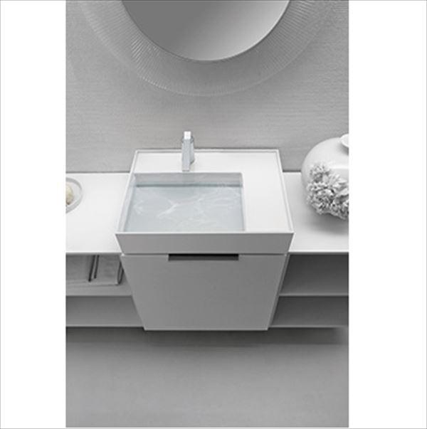 三栄水栓製作所 LAUFEN Kartell 洗面器 SL810334-W-104