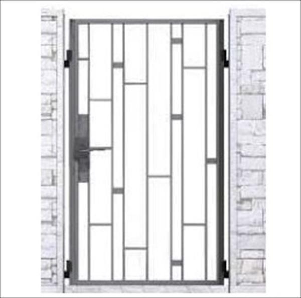 YKKAP シャローネ門扉 SB03型 片開き 門柱仕様 08-16