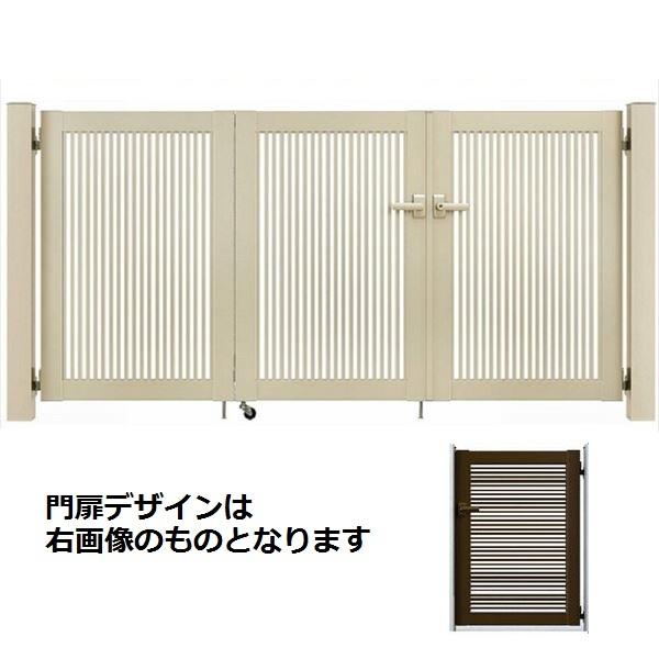 YKKAP シンプレオ門扉 1型 4枚折戸セット 門柱仕様 09-12