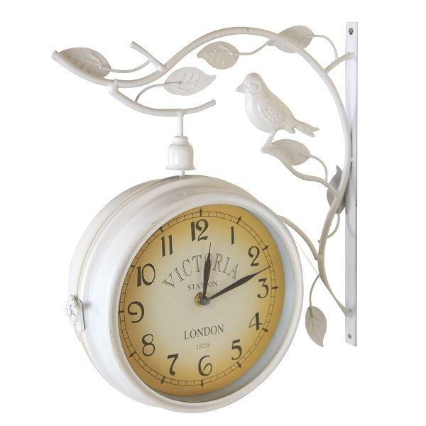 ジャービス商事 ウォールデコレーション ガーデン時計 バードW #37908