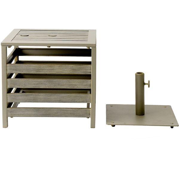 杉田エース パティオ・プティ プルマン パラソルテーブル 635-061 『ガーデンチェア ガーデンテーブル ガーデンファニチャー』